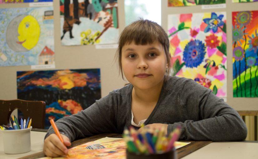Kinga Piotrowska – zdobywczyni nagrody w konkursie plastycznym