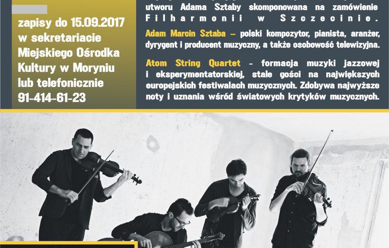 Więcej o: Wyjazd na koncert symfoniczny – Adam Sztaba oraz Atom String Quartet