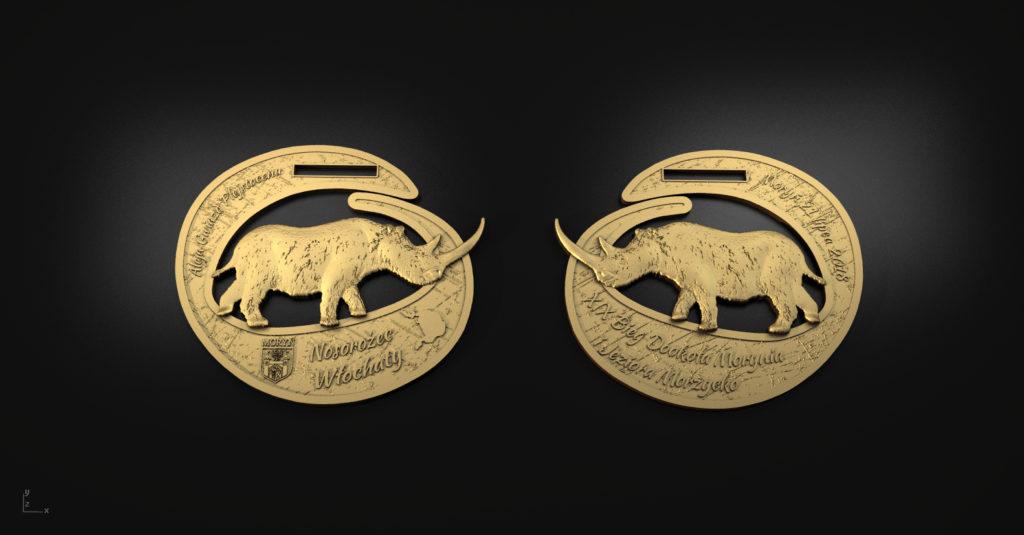Medal XIX Biegu Dookoła Morynia i Jeziora Morzycko - 2018'