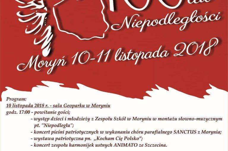 Więcej o: Uroczysteobchody 100-lecia Odzyskania Niepodległości przez Polskę