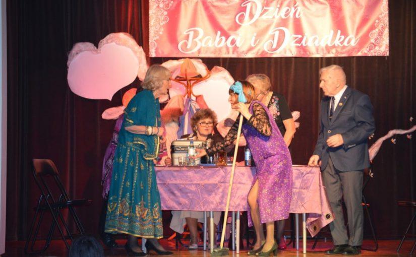Teatr Eliksir wystąpił specjalnie dla Babć i Dziadków z okazji ich święta