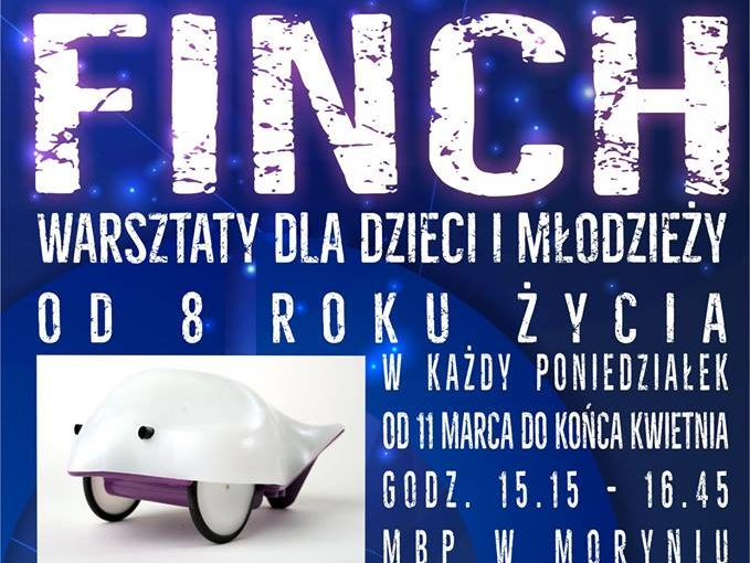 LOKALNY KLUB KODOWANIA I PROGRAMOWANIA ROBOTÓW EDUKACYJNY FINCH.