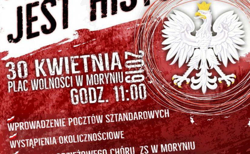 Więcej o: Uroczystość z okazji Dnia Flagi Rzeczypospolitej Polskiej