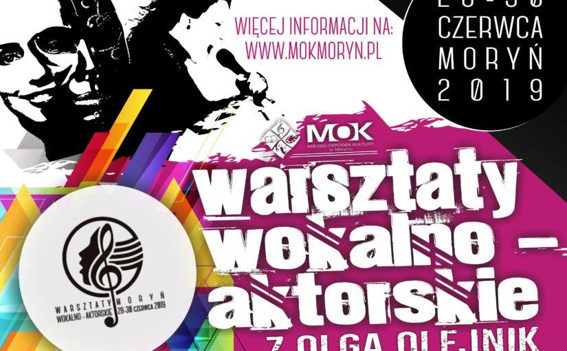 Więcej o: Wakacyjne warsztaty wokalno-aktorskie dla dzieci i młodzieży z Olgą Olejnik