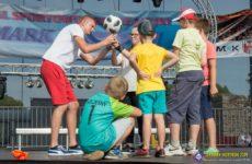 Więcej o: Jarmark Moryński 2019 – Pokazy i warsztaty trików piłkarskich na scenie jarmarkowej w Moryniu!