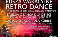 Więcej o: RUSZA WAKACYJNE RETRO DANCE