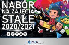 Więcej o: NABÓR NA ZAJĘCIA STAŁE 2020/2021